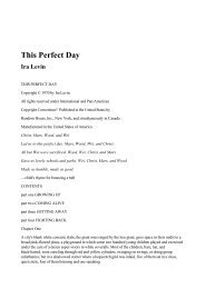 Ira Levin - This Perfect Day