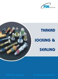 to view pdf - RGA and PSM Fasteners