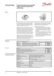 Technické údaje Programovatelná termostatická ... - Koupelny SEN