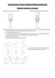 Návod QUIK QK820 - 810 - Koupelny SEN