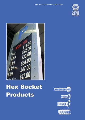 Hex Socket Products - RGA and PSM Fasteners
