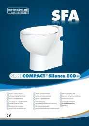SANICOMPACT Silence ECO+ - Koupelny SEN