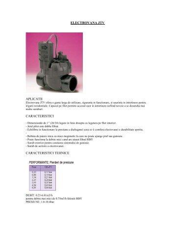 """Electrovana 100JTV 1"""" (26/34)- detalii tehnice - Prodimar"""