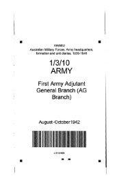 1/3/10 ARMY - Australian War Memorial