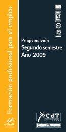 Formación profesional para el empleo - Turisme - Generalitat ...