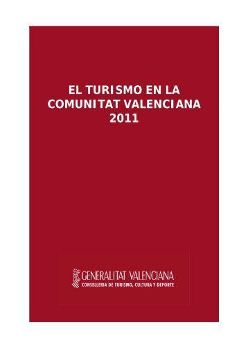Turismo en la Comunitat Valenciana 2011 - Turisme