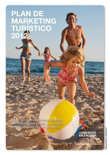 PLAN DE MARKETING TURÍSTICO 2012 - Turisme