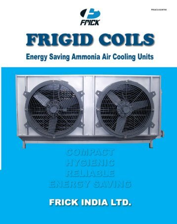 download brochure stainless steel frigid coils - Frick India