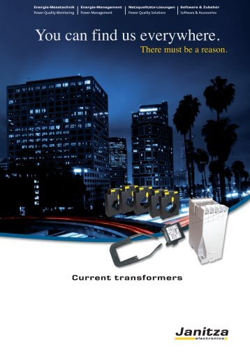 Current Transformer Brochure - Westek Electronics