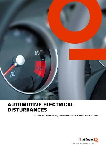 Automotive brochure e May 2011 - Westek Electronics