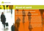 Alcool et santé - Addiction Suisse