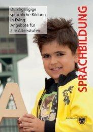 Sprachbildung: Durchgängige sprachliche Bildung in ... - Dortmund.de