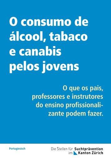 O consumo de álcool, tabaco e canabis pelos jovens