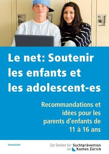 Le net: Soutenir les enfants et les adolescent-es - Migesplus