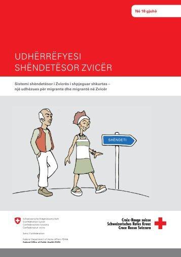 Udhërrëfyesi shëndetësor Zvicër - Migesplus