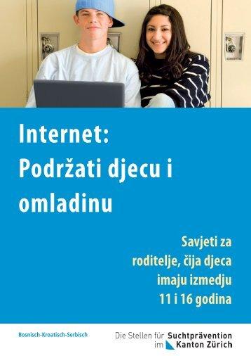 Internet: Podržati djecu i omladinu - FISP