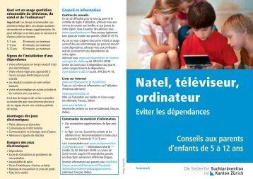 Natel, téléviseur, ordinateur - Migesplus