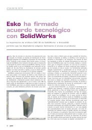 Esko ha firmado acuerdo tecnológico con SolidWorks - Gremi d ...