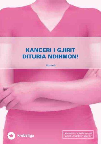 KANCERI I GJIRIT DITURIA NDIHMON! - FISP