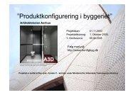 Velkomst og formål med konferencen. - Produktkonfigurering i ...
