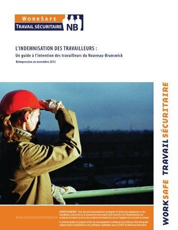 L'indemnisation des travailleurs - WorkSafeNB