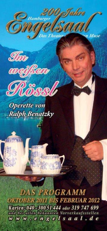 Operette von Ralph benatzky - Hamburger Engelsaal