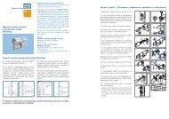 Návod k instalaci/použití cylindrických vložek Winkhaus