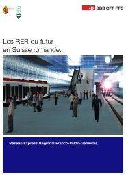 Les RER du futur en Suisse romande - Ceva