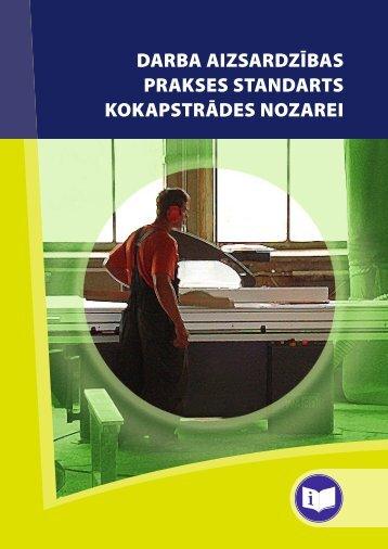 Darba aizsardzības prakses standarts kokapstrādes nozarē