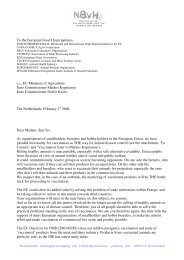 letter to Food Chain partners 7-2-06 Brussels 1-2-06 - Verband der ...