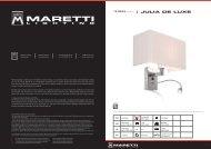 Julia de luxe - Maretti Projectverlichting
