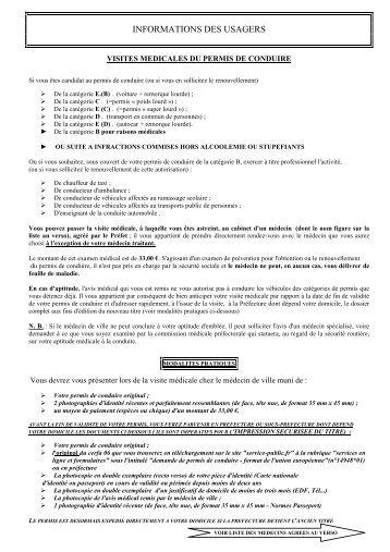 liste médecins agréés VM septembre 2013 - Préfecture de la Savoie
