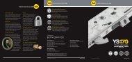 Yale YS170 Multipoint lock - PC Henderson