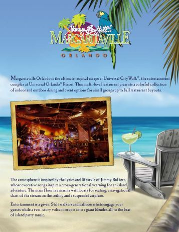 Download a complete list of event options! - Jimmy Buffett's ...