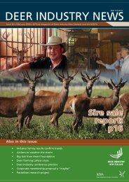 Deer Industry News #34 Februray 2009 - Deer Industry New Zealand