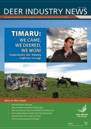 Deer Industry News #48 Jun/July 2011 - Deer Industry New Zealand
