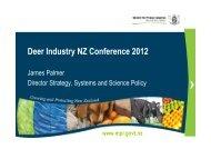 Deer Industry NZ Conference 2012 - Deer Industry New Zealand