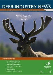 Deer Industry News #26 October 2008 - Deer Industry New Zealand
