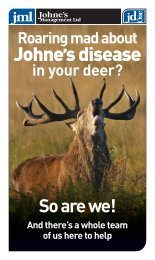to find a Johnes consultant in your region - Deer Industry New Zealand