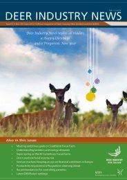 deer industry newsissn 1176-0753 - Deer Industry New Zealand