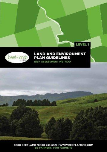 LEP guidelines level 1 – Risk assessment method - Beef + Lamb ...
