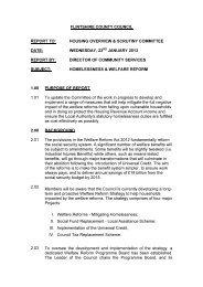 Homelessness & Welfare Reform PDF 54 KB - Flintshire County ...