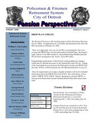 Police and Fire 2003 August Issue - detroit police & fire retirement ...