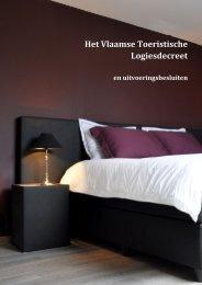 Het Vlaamse Toeristische Logiesdecreet - Vlaanderen.be