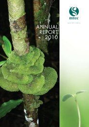 ANNUAL REPORT 2010 - Malaysian Timber Certification Council