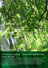 Green Management and Green Services - CHUNGHWA PICTURE ...