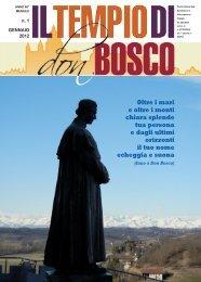 Oltre i mari e oltre i monti chiara splende tua ... - Colle Don Bosco