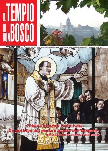 Il bene bisogna farlo bene. La politica del prete è ... - Colle Don Bosco