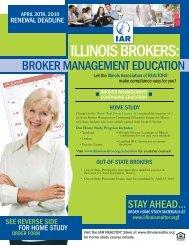 BROKER FLYER 09:Layout 1.qxd - Illinois Association of REALTORS