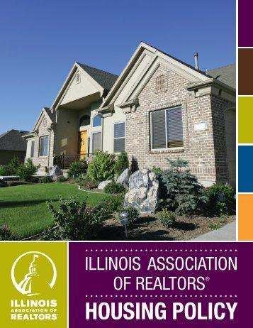 Housing Policy (pdf) - Illinois Association of REALTORS